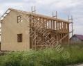 Каркасный дом, зашивка стен каркасного дома