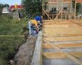 Устройство горизонтальной гидроизоляции для монтажа стен